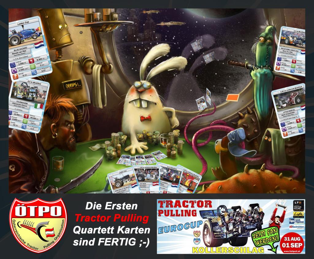 Quartett-Kartenspiel